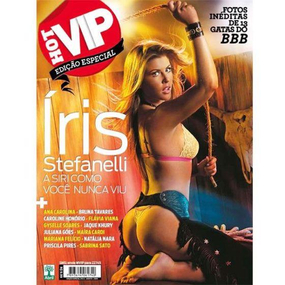 Suposta capa da revista Hot Vip de agosto cai na internet